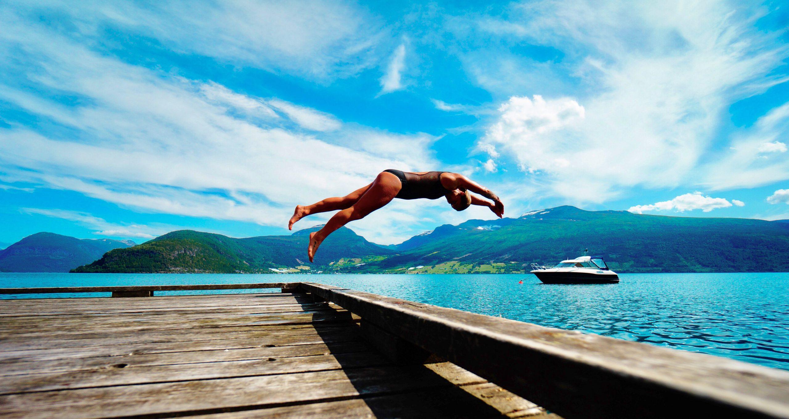 Bliv den hurtigste svømmer til konkurrencer og ved stranden