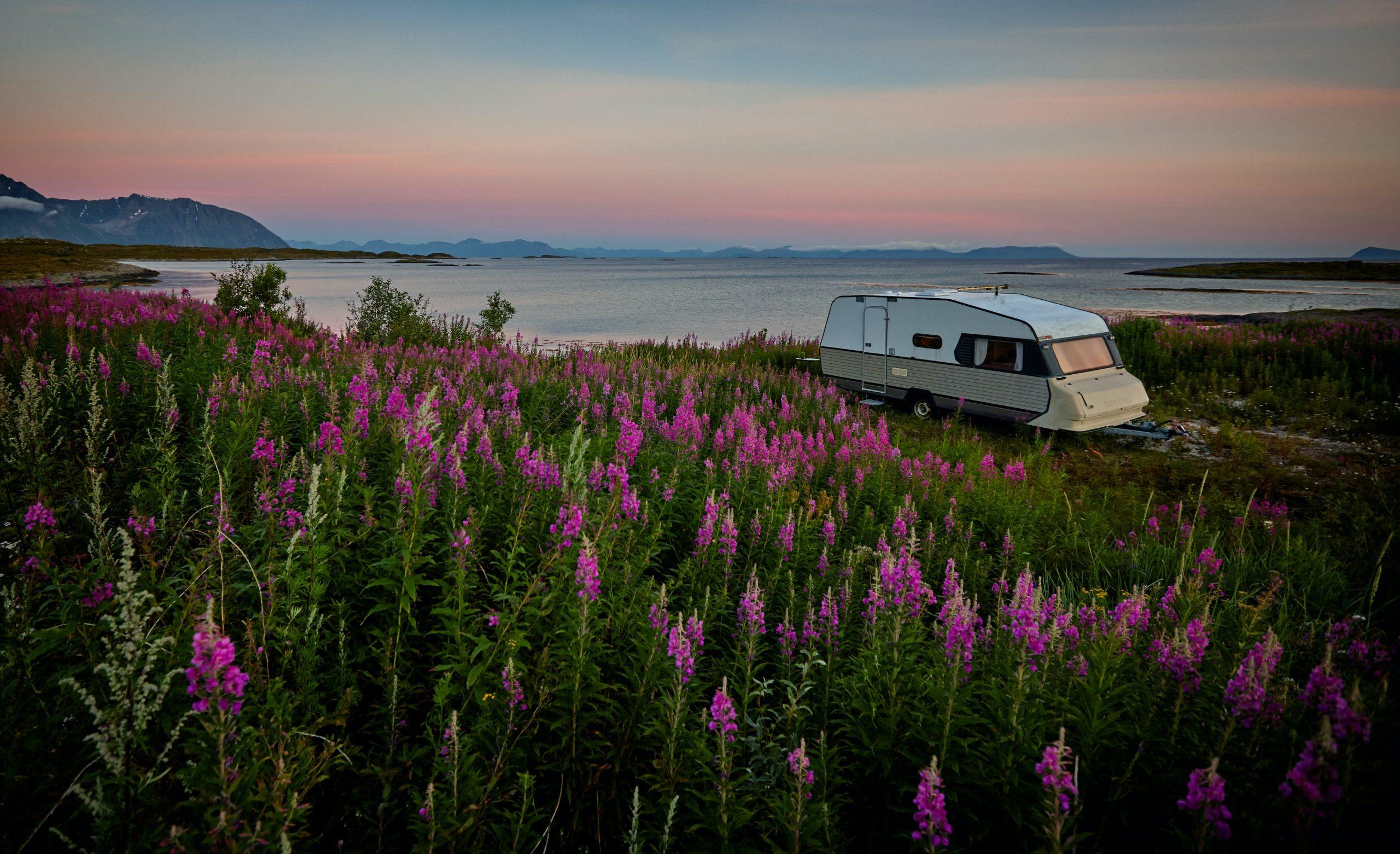 Hold ferie med familien i en Fendt campingvogn