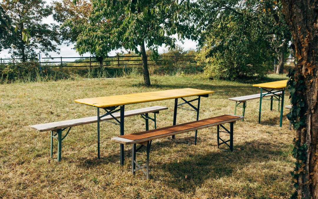 Bord-/bænkesæt til udendørs brug